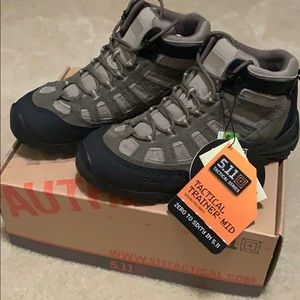 5.11 Tactical Trainer-Mid boots (size 9.5)